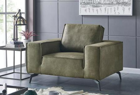 Feel Furniture Weston fauteuil of bank | Luxe design met comfortabel zitvlak Fauteuil groen