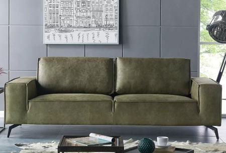 Feel Furniture Weston fauteuil of bank | Luxe design met comfortabel zitvlak 2-zits groen