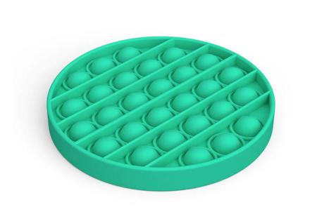 Pop It Fidget toys | Dé hype van dit moment - In diverse kleuren en vormen Rond - mint