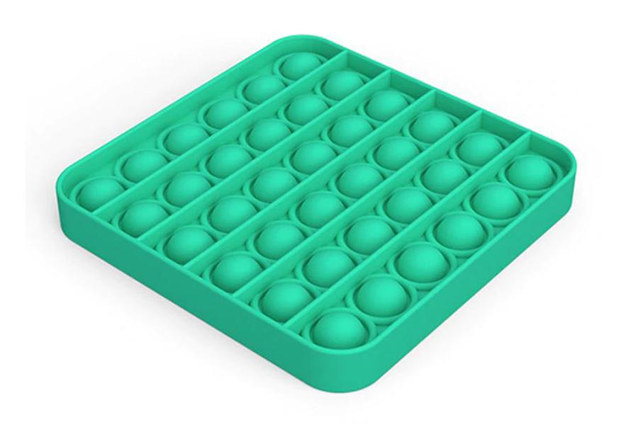 Pop It - Fidget toy Vierkant - Mint