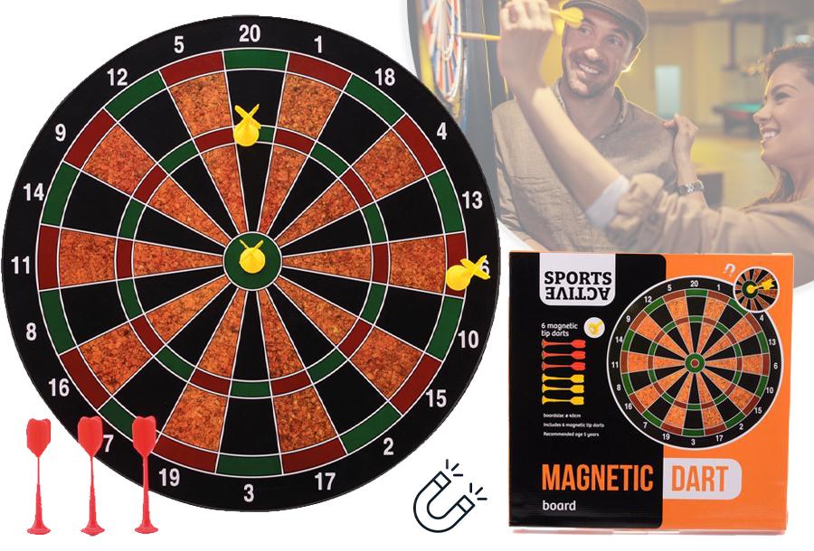 In de aanbieding: Magnetisch dartbord