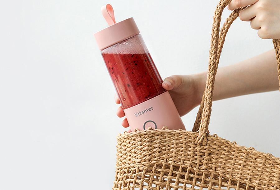 Blender To Go Bottle - Roze