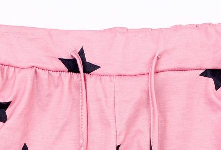 Comfy huispak met print   Joggingpak voor dames - keuze uit 11 kleuren