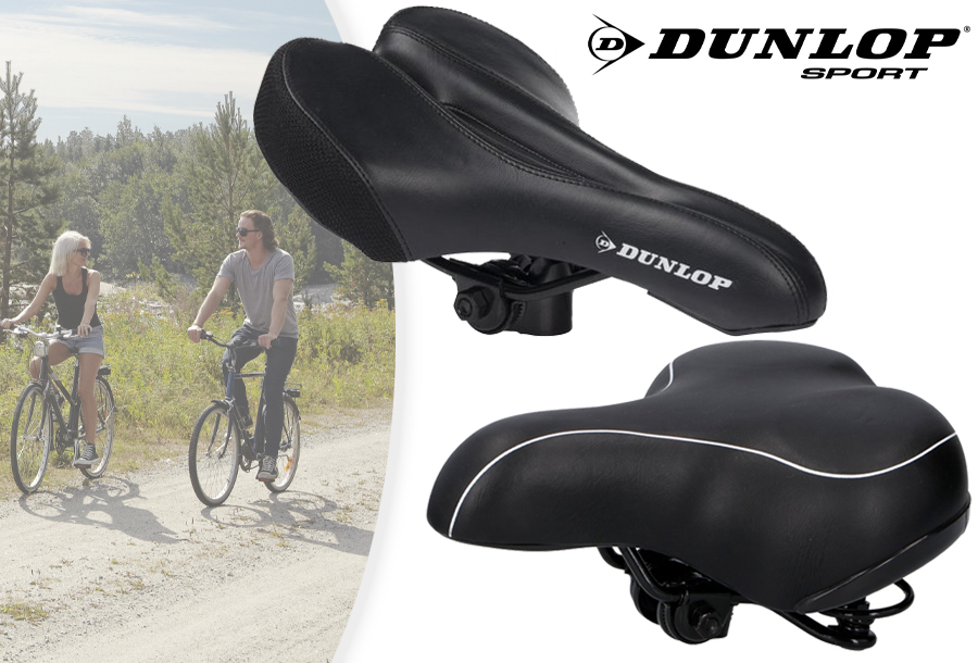 Nu in de aanbieding: Fietszadels van Dunlop