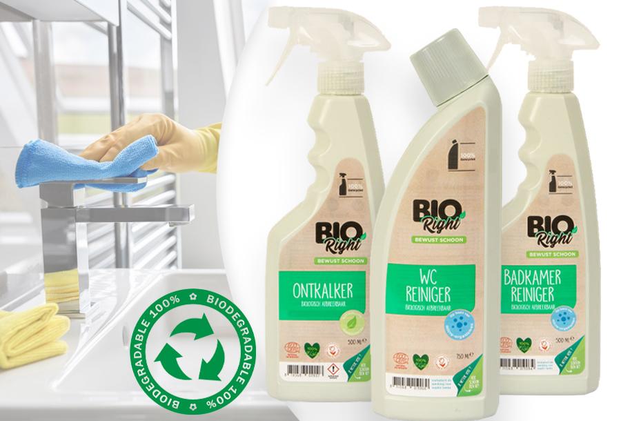 Extra voordelig: BioRight schoonmaakmiddelen