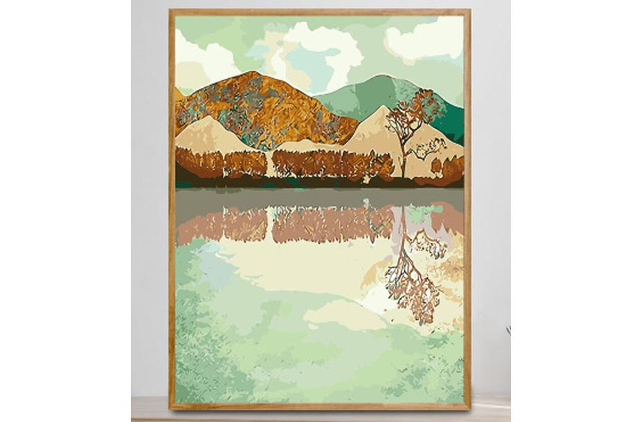 Landschappen schilderen op nummer #6 Meer
