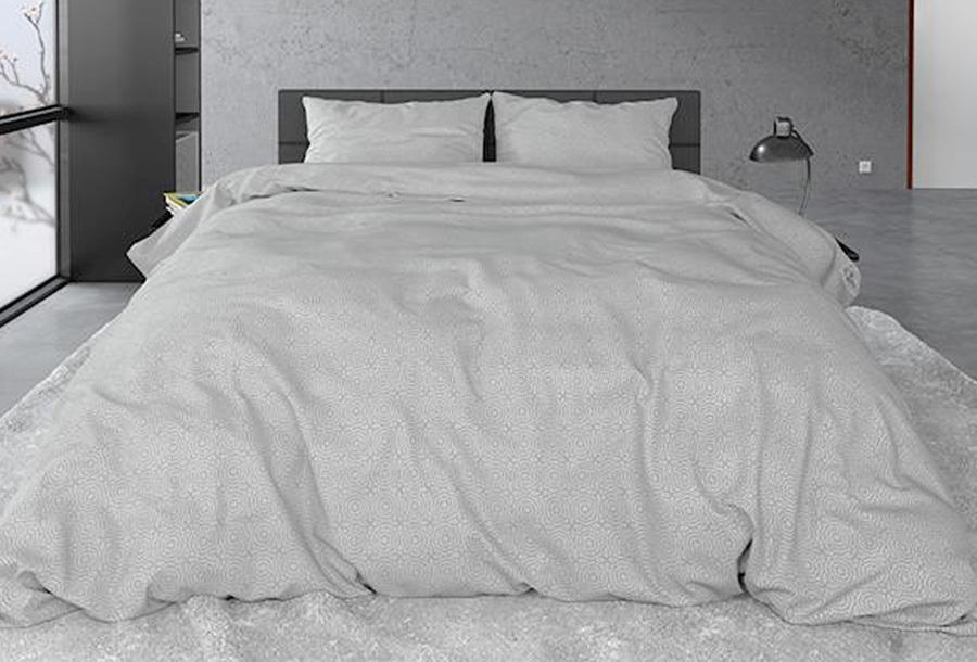 Flanellen dekbedovertrekken sale 6298 - 77801 - Maat 240 x 220 cm