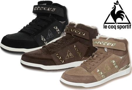 Le Coq Sportif sneakers met studs t.w.v. €89,95 voor slechts €39,95