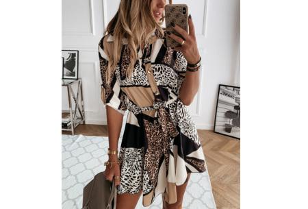 Classy blousejurk | Hippe jurk voor dames in 4 prints Animal