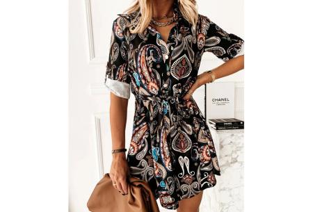 Classy blousejurk | Hippe jurk voor dames in 4 prints Floral batik