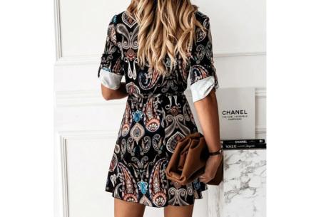 Classy blousejurk | Hippe jurk voor dames in 4 prints