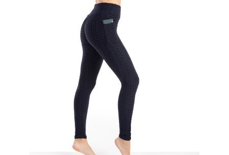 Push-up sportlegging | Dames legging met corrigerend en liftend effect - in 6 kleuren Navy