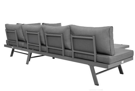 Loungeset Modica - aluminium frame | 8 verschillende opstellingen mogelijk!