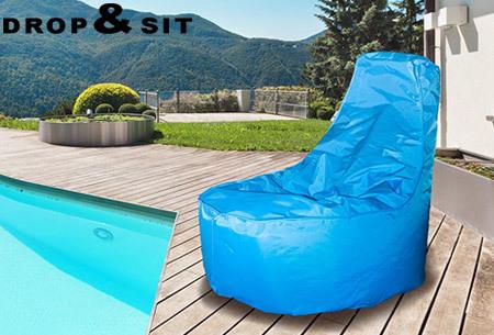 Drop & Sit NOA zitzak stoel | Keuze uit 2 formaten en 24 kleuren