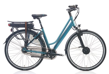 Shimano Nexus 7 elektrische fiets Maat 48 cm - Petrol metallic