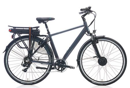 Shimano Nexus 7 elektrische fiets | 28 inch dames & heren e-bike Antraciet metallic