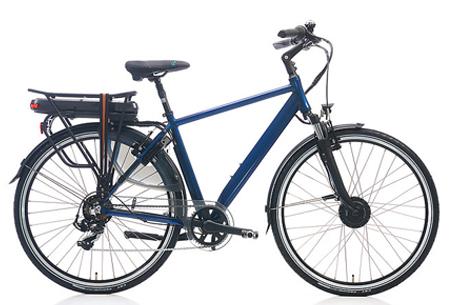 Shimano Nexus 7 elektrische fiets Maat 50 cm - Donkerblauw metallic