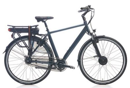 Shimano Nexus 7 elektrische fiets Maat 50 cm - Coal grey mat