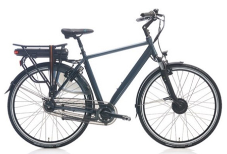 Shimano Nexus 7 elektrische fiets | 28 inch dames & heren e-bike Coal grey mat