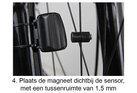 Draadloze fietscomputer   Met kilometerteller, snelheidsmeter en meer