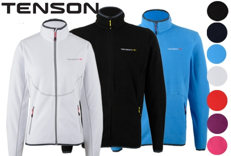 Tenson fleece vest t.w.v. €59,95 nu slechts €29,95!