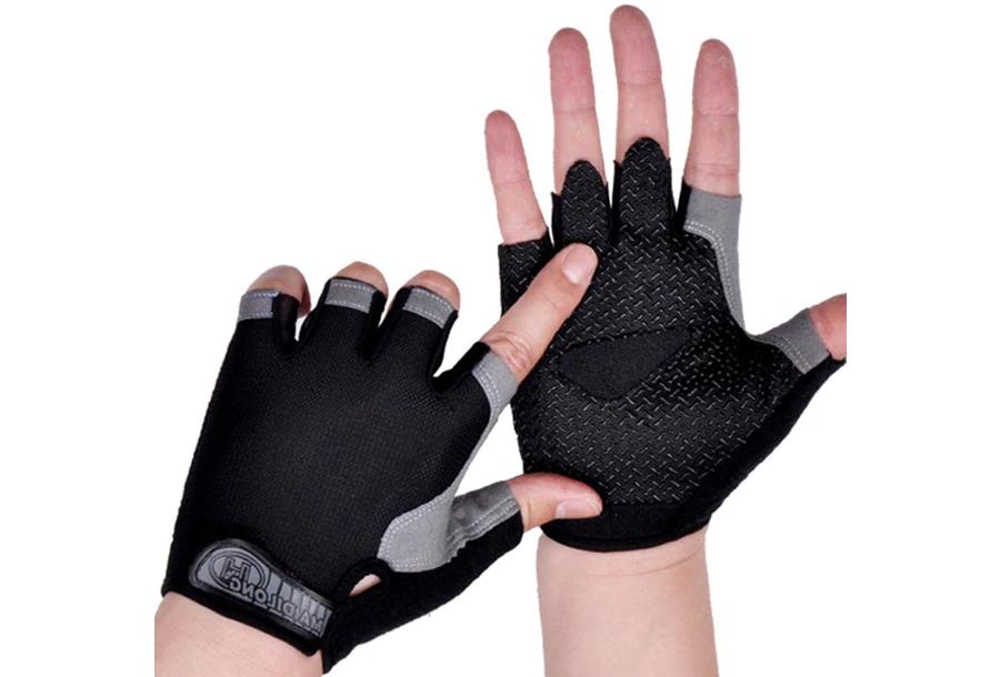 Fietshandschoenen Maat S - Zwart - Zonder gel