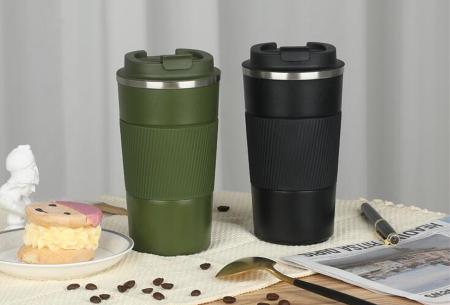 Thermosbeker | Rvs koffiebeker in twee formaten!