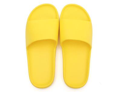 Cosy badslippers voor dames en heren   Ultracomfortabele slippers Geel