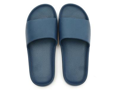 Cosy badslippers voor dames en heren   Ultracomfortabele slippers Navy blauw