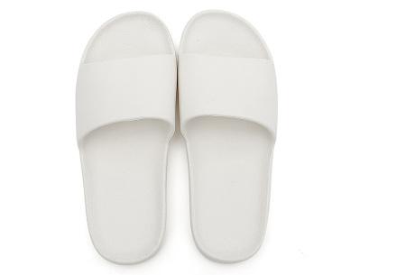 Cosy badslippers voor dames en heren   Ultracomfortabele slippers Wit