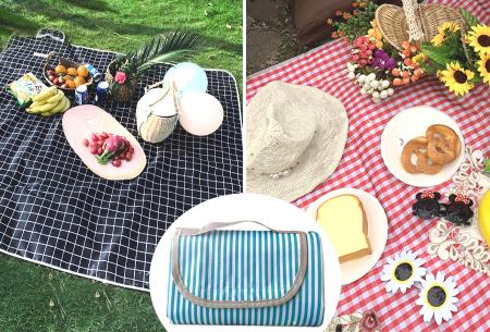 Opvouwbaar buitenkleed | Ideaal als picknickkleed of strandmat!