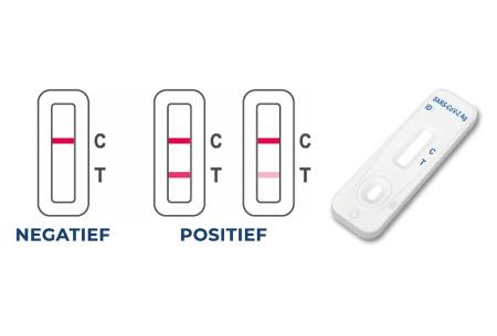 Corona-sneltest van Flowflex | Covid-19 zelftest met ondiepe neusswap - nu met gratis 3-pack mondkapjes!