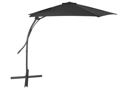 XXL zweefparasol, parasolhoes en/of -tegels   Extra grote parasol en accessoires van Feel Furniture Donkergrijs
