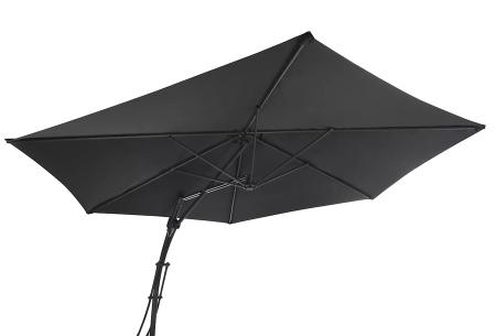 XXL zweefparasol, parasolhoes en/of -tegels   Extra grote parasol en accessoires van Feel Furniture