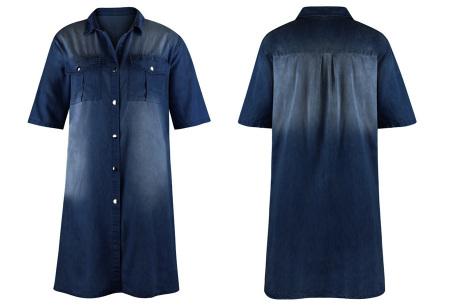 Casual spijkerjurk | Korte denim jurk voor dames