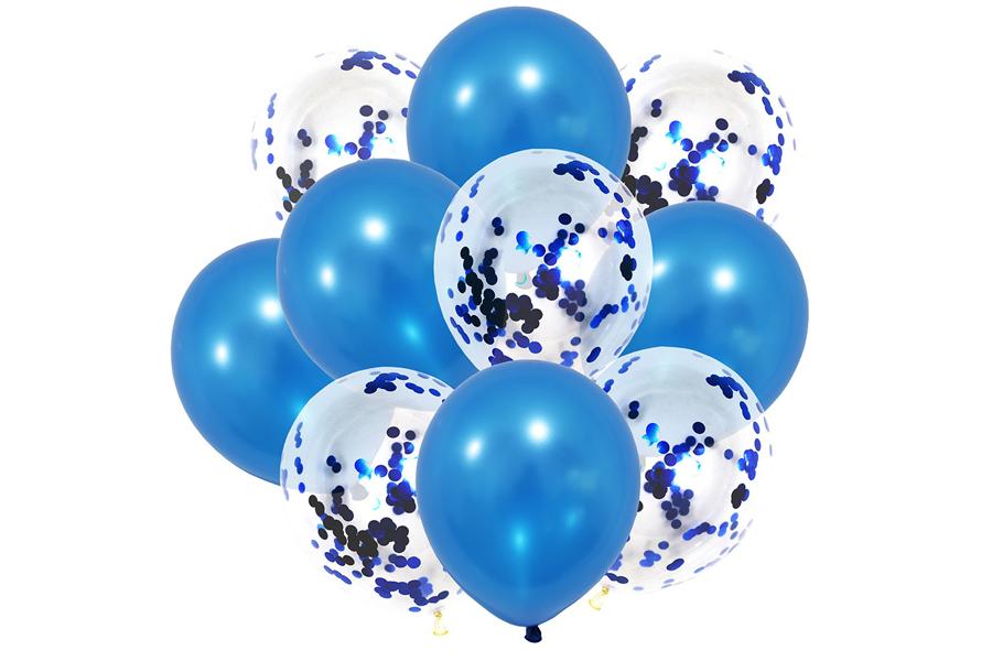 Ballonnen 10 stuks - Blauw