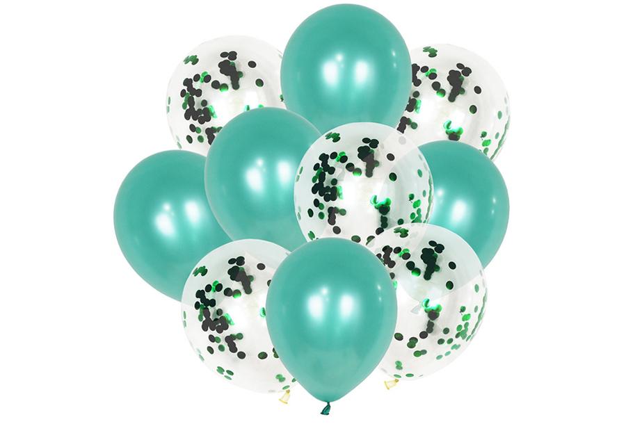 Ballonnen 10 stuks - Groen