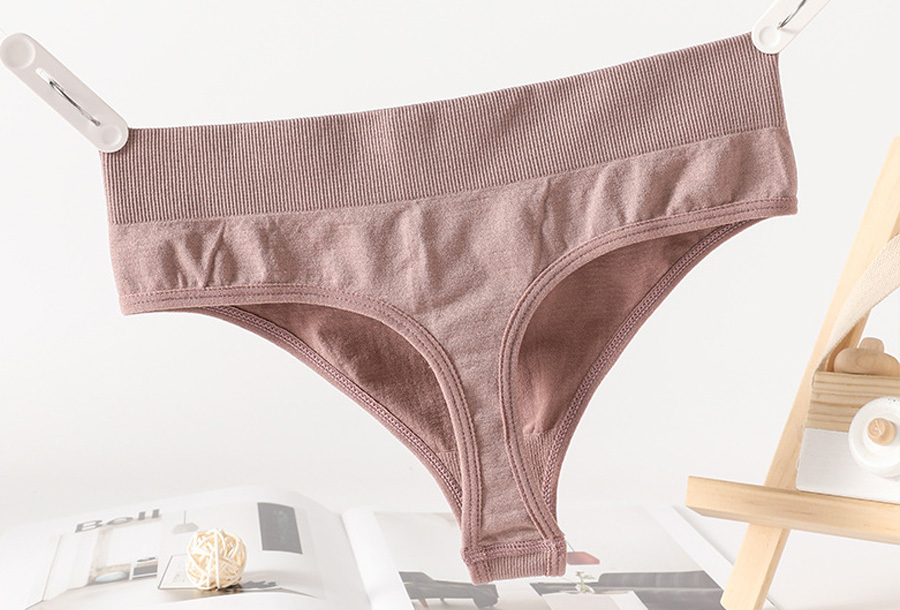 Comfy ondergoed - String - Maat S/M - Oudroze