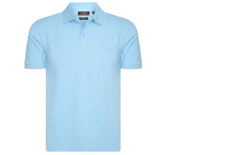 Pierre Cardin herenpolo's | Topkwaliteit polo's van 100% katoen Lichtblauw