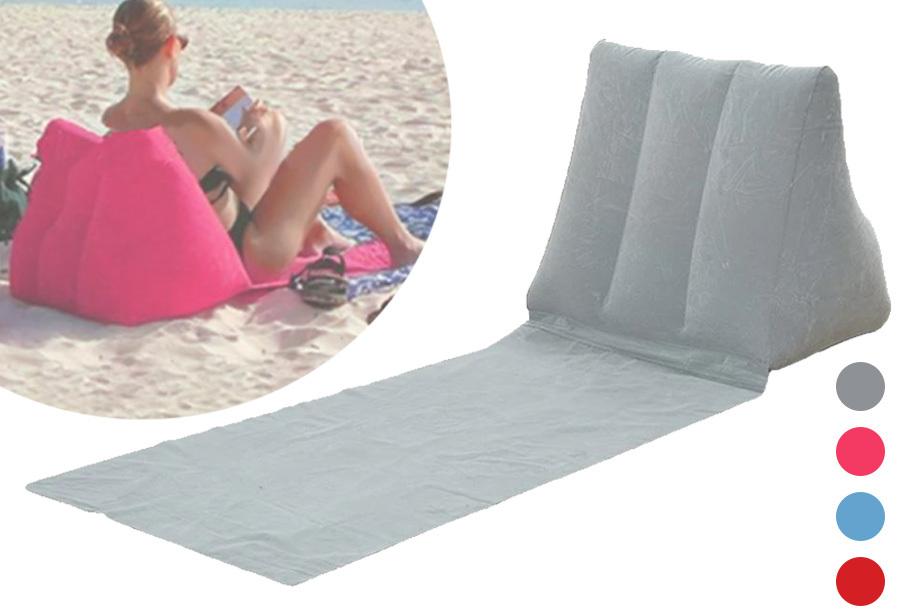 Opblaasbare strandmat met 48% korting