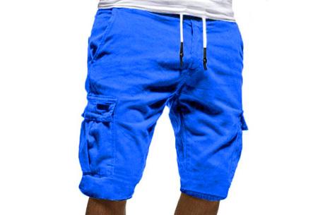 Heren korte broek   Casual shorts voor de zomer - in 10 kleuren Blauw