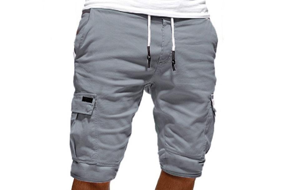 Korte broek heren - Maat XL - Lichtgrijs