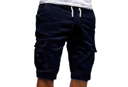 Heren korte broek   Casual shorts voor de zomer - in 10 kleuren Navy