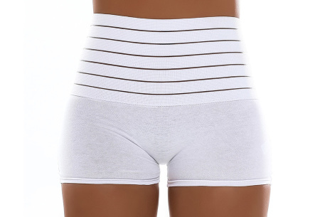 Boxershort shaper | Corrigerend ondergoed voor dames  Wit