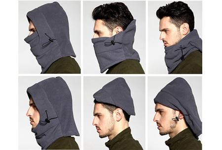 Multifunctionele skimuts | Houd je gezicht warm tijdens de winterse kou!