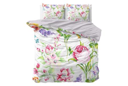 Dekbedovertrekken met fotoprint design   Cotton blended beddengoed - in 7 prints Elize Multi