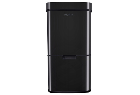 FlinQ prullenbak met sensor en 4 vakken | Al je afval in één vuilnisbak!