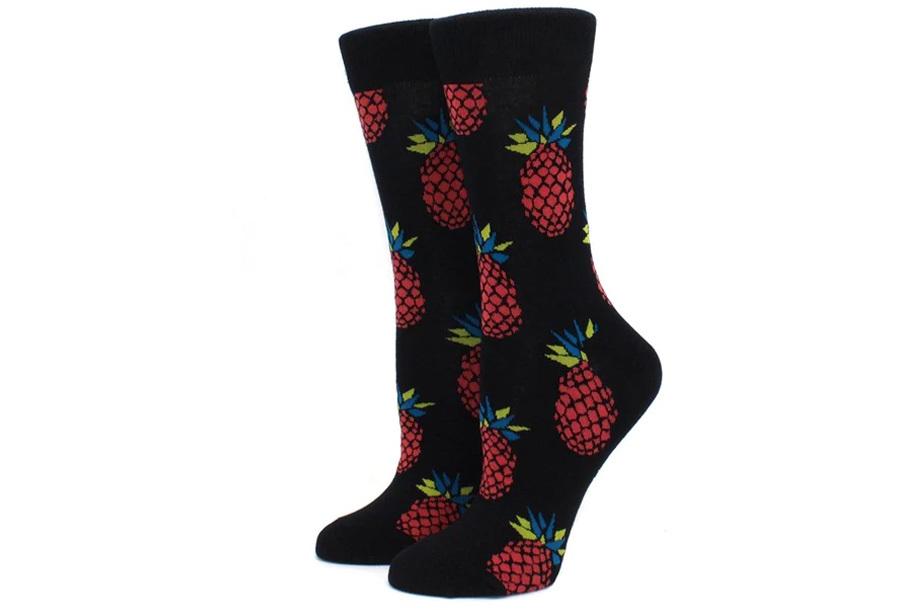 Printed Socks Ananas