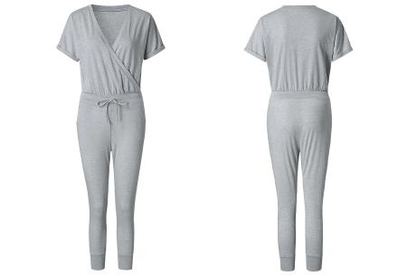 Jogging jumpsuit | Comfortabel & stijlvol kledingstuk! Grijs