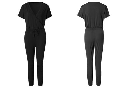 Jogging jumpsuit | Comfortabel & stijlvol kledingstuk! Zwart